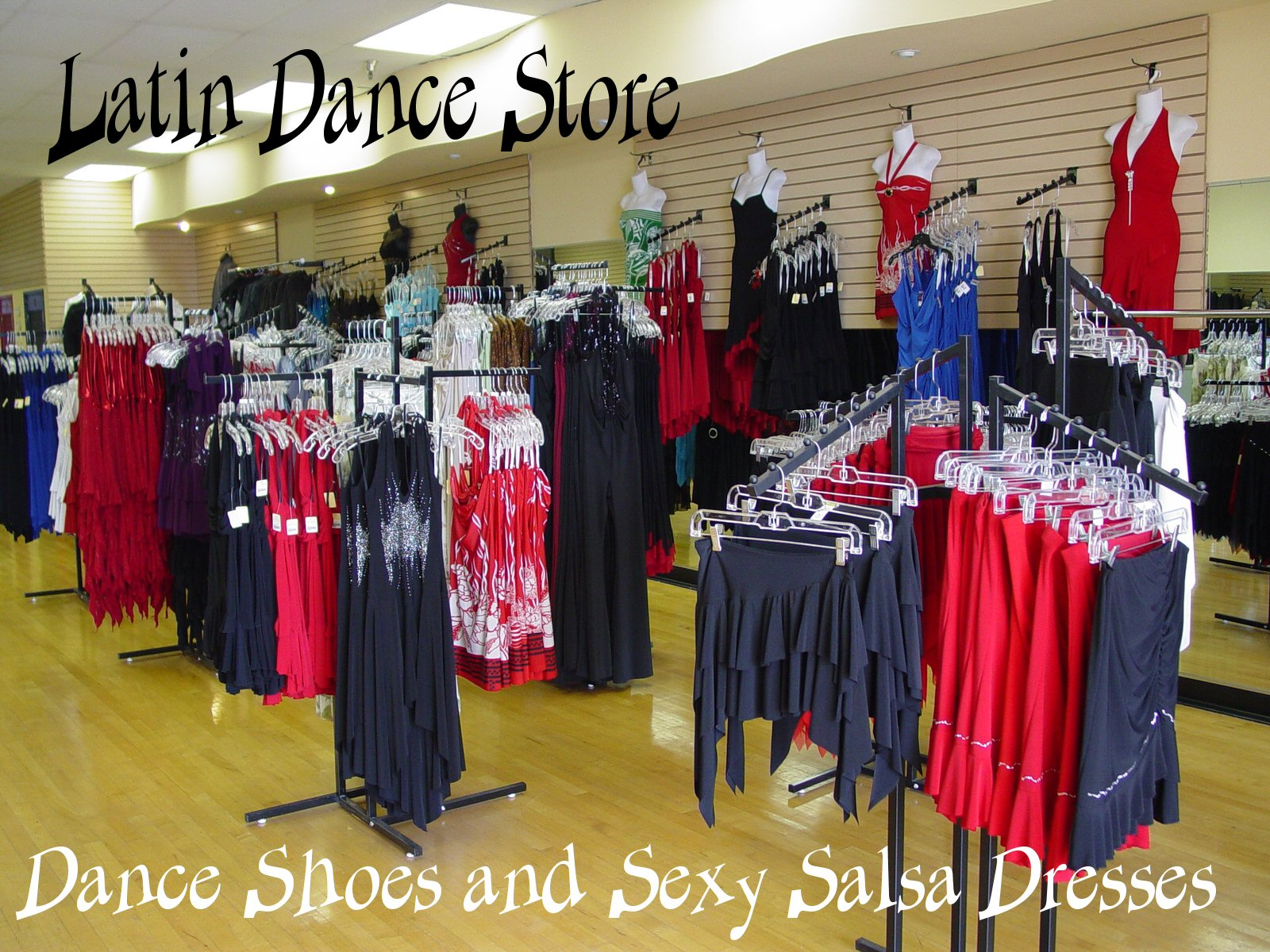 Dance clothes store