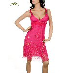 Fuschia Salsa Dress