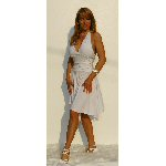 Whtie Marily Monroe Dress